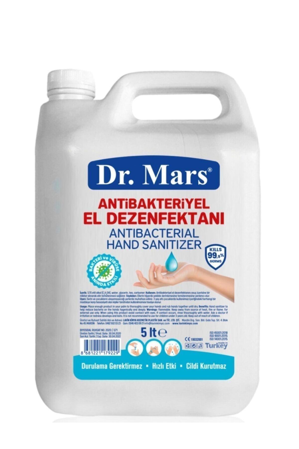 DR.MARS Antibakteriyel El Dezenfektanı - 5 Lt 1