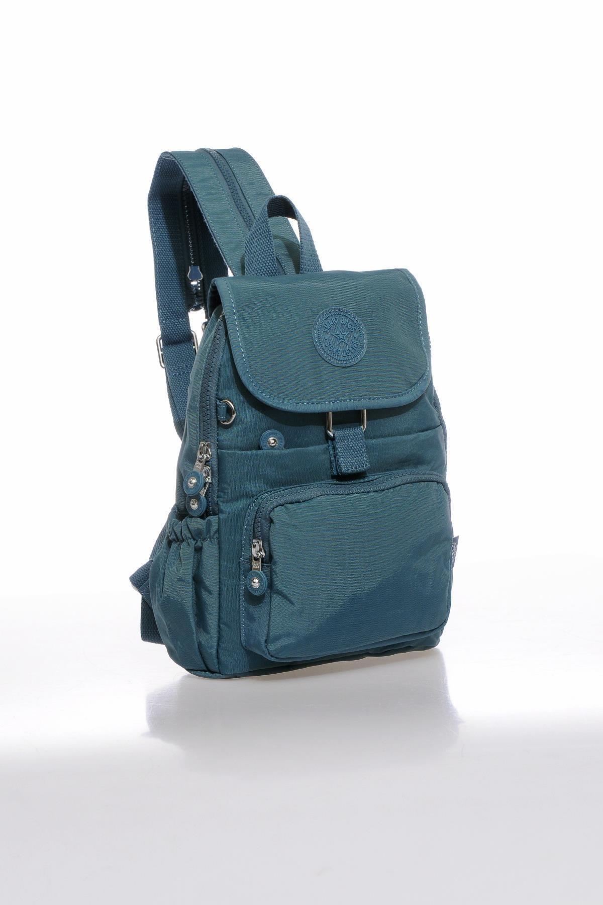 SMART BAGS Kadın Buz Mavi Sırt Çantası Smbk1138-0050 2
