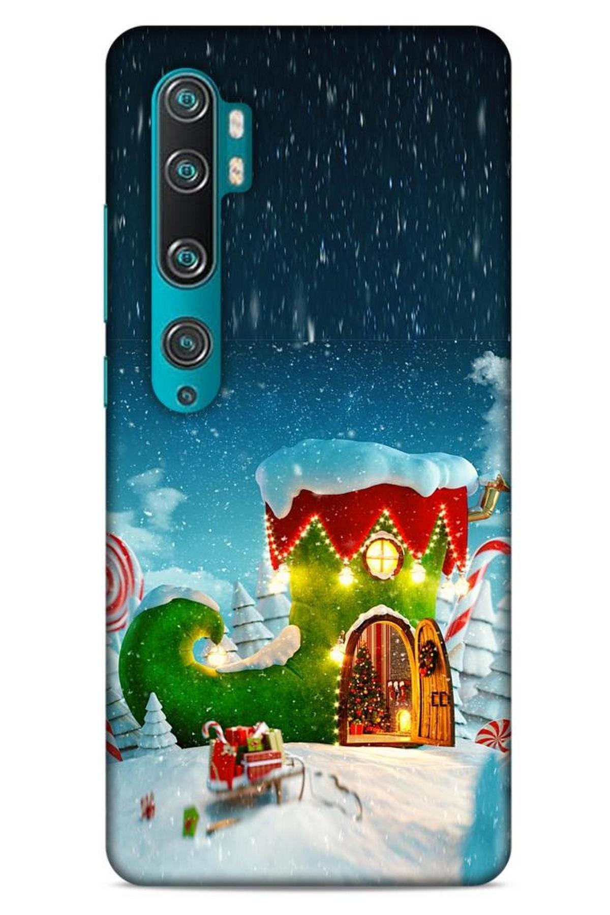 Lopard Xiaomi Mi Note 10 Pro Kılıf Snowix (4) Koruma Kılıfı Yeşil Lacivert 1
