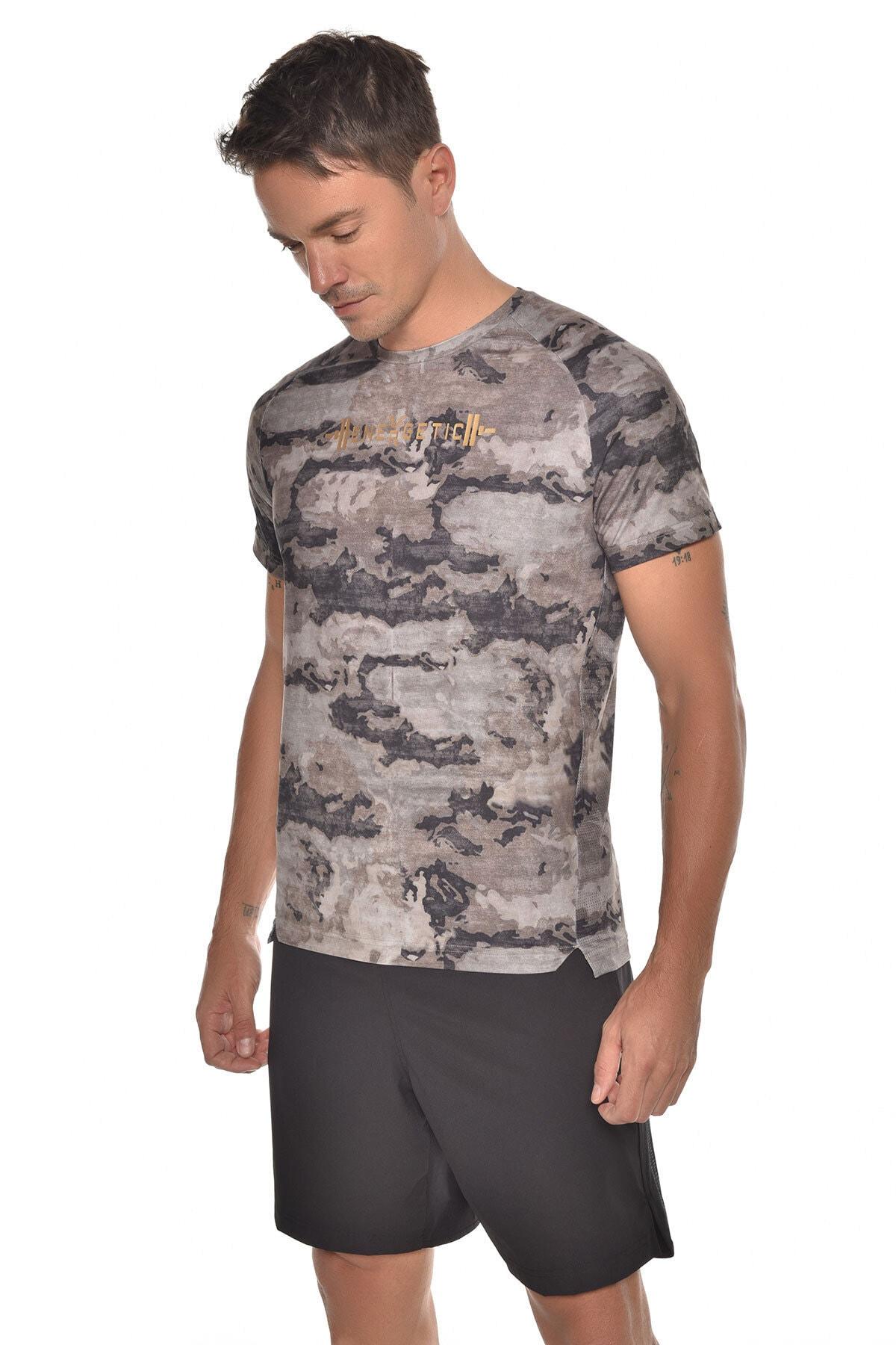 bilcee Kamuflaj Erkek Kısa Kol T-shirt Gw-9231 2