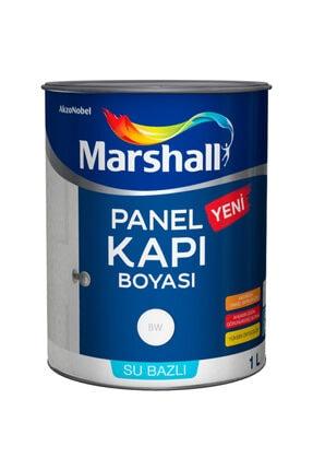 Marshall Su Bazlı Panel Amerikan Kapı Boyası 1 Lt Beyaz