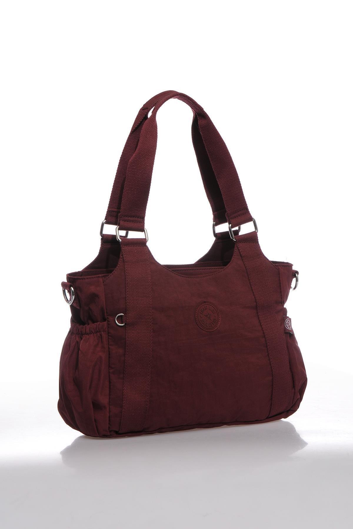 SMART BAGS Smbk1163-0021 Bordo Kadın Omuz Çantası 2