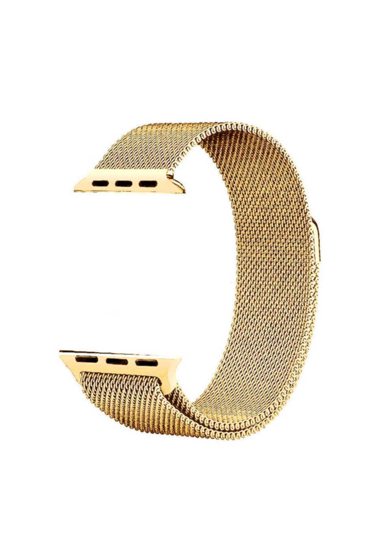 zore Apple Watch 40mm Krd-01 Metal Kordon Gold 1