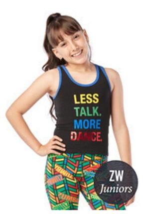 ZUMBA Zw Juniors More Dance Racerback