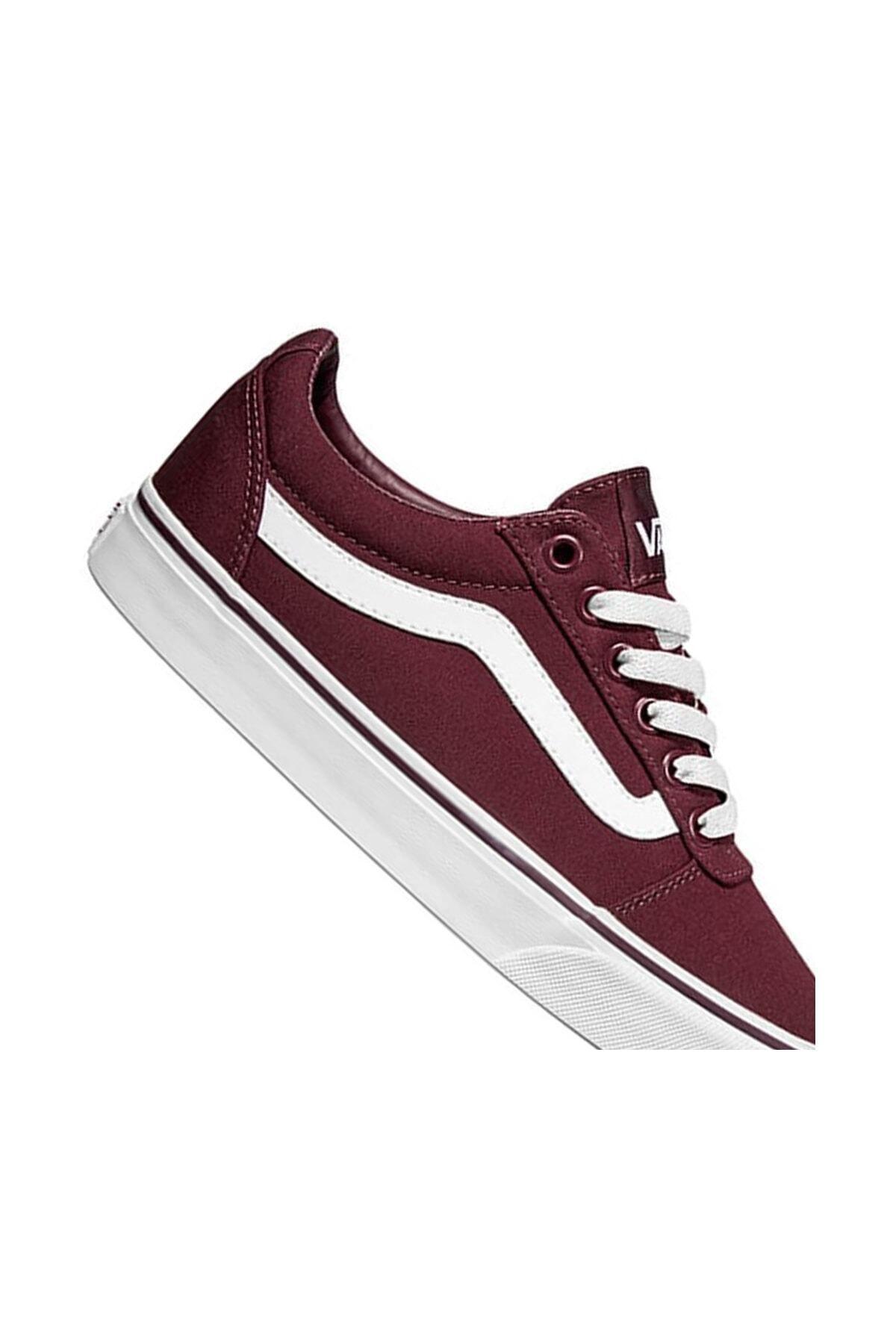 Vans WM WARD Bordo Kadın Sneaker Ayakkabı 100575289 2