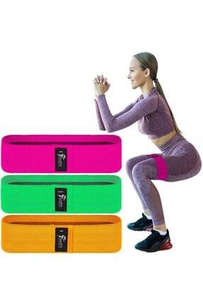 SOOFIT Yüksek Seviye Turuncu Pilates, Fitness Ve Evde Spor Squat Ve Egzersiz Direnç Bantı
