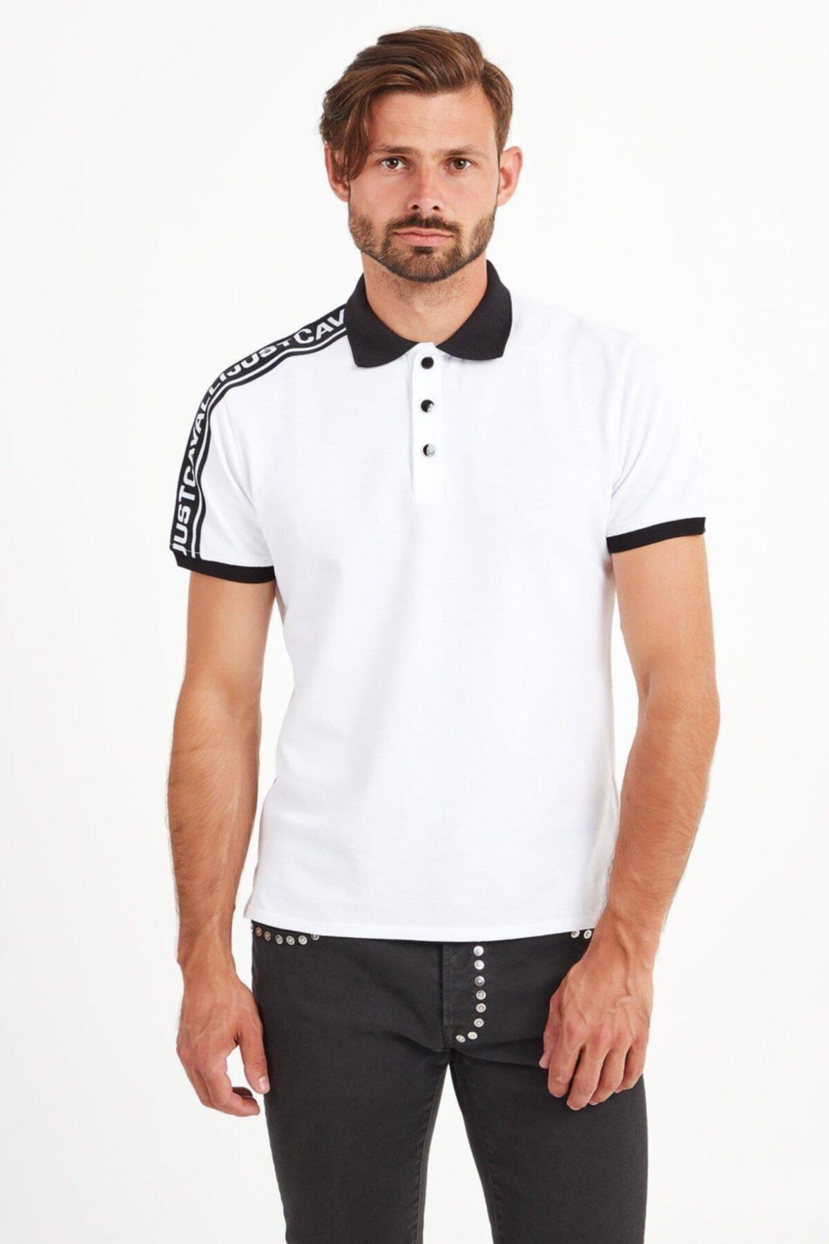 Just Cavalli Erkek Beyaz T-Shirt 2