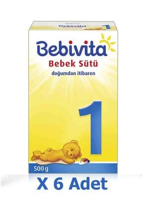 Bebivita Bebek Sütü 1 Numara Yeni Doğan  3 kg   6 'lı Paket