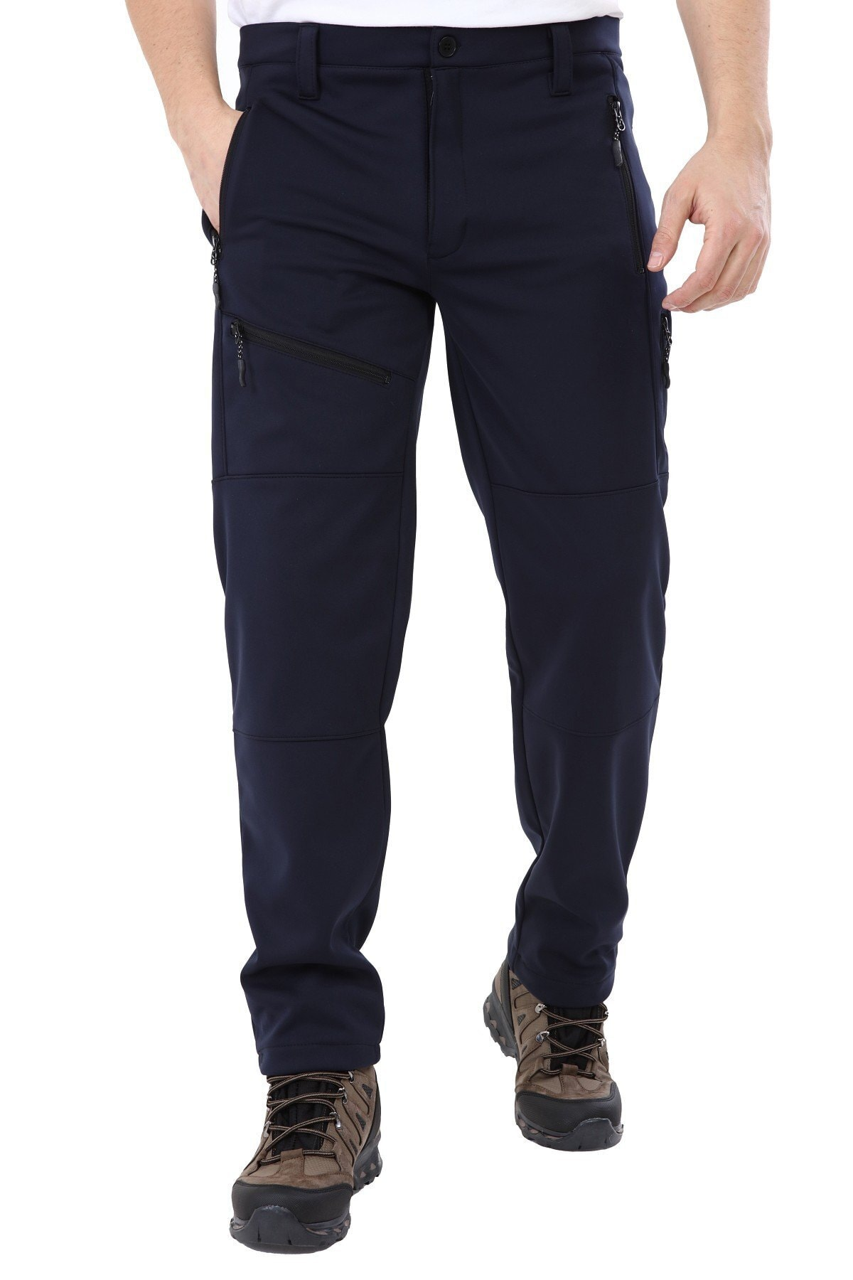 GHASSY CO. Erkek Tactical Outdoor Su Geçirmez Lacivert Softshell Pantolon 1