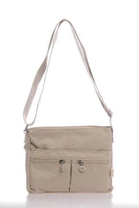 SMART BAGS Kadın Bej Postacı Çantası