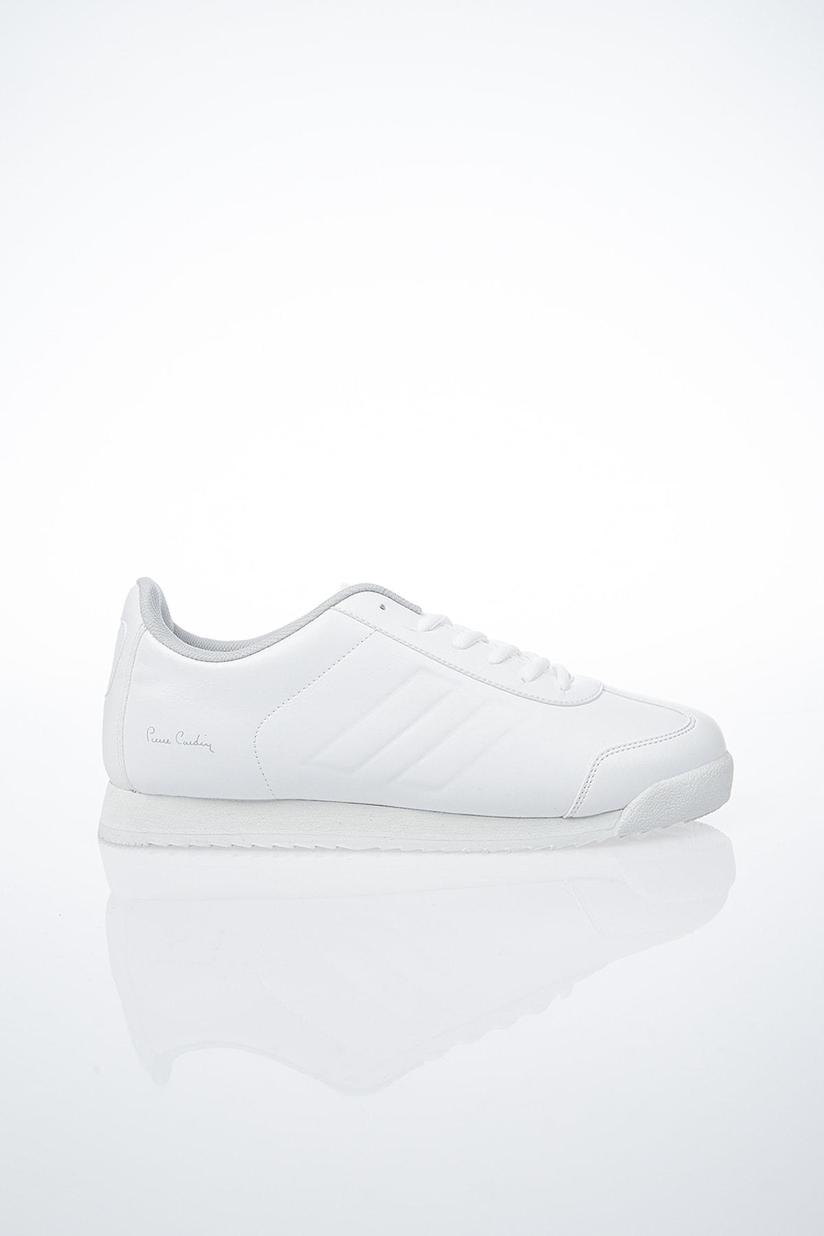 Pierre Cardin PC-30484 Beyaz Erkek Spor Ayakkabı 1