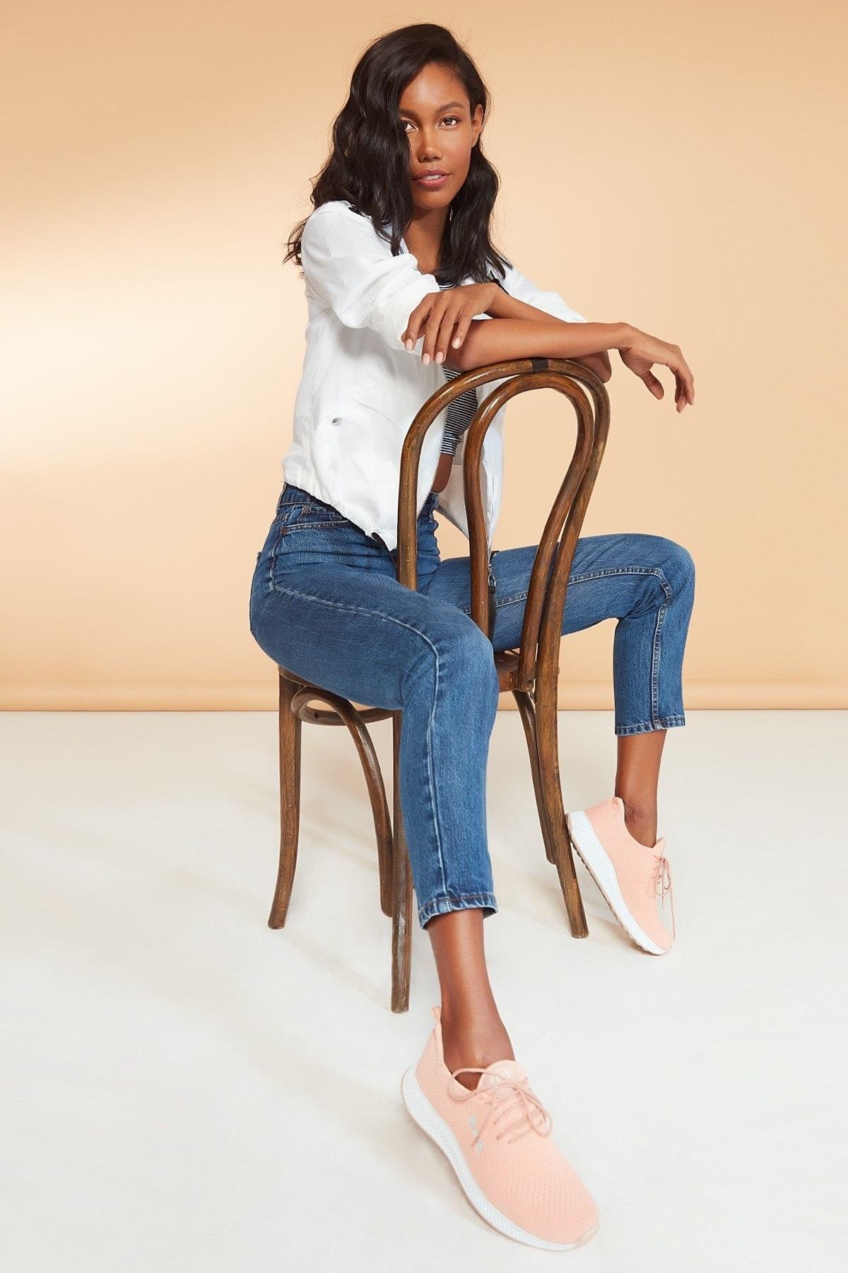 Pierre Cardin Kadın Günlük Spor Ayakkabı-somon Pcs-10248 1