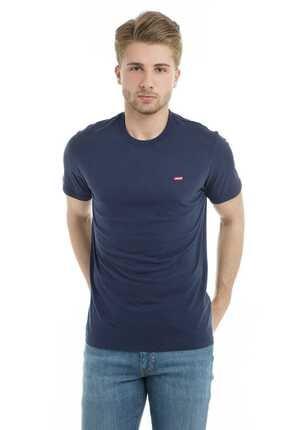 Levi's Erkek Mavi T-shirt 56605-0017