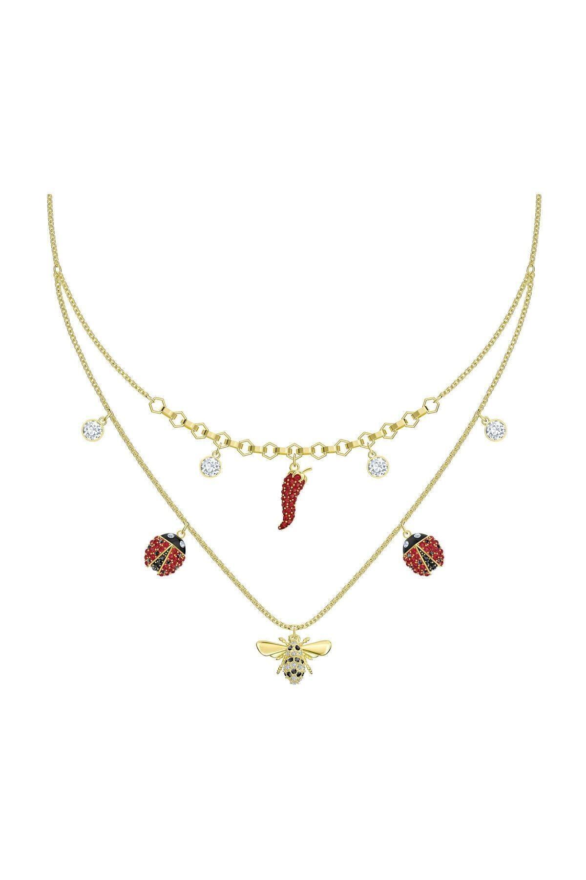 Swarovski Kolye Lisabel:Necklace Dmul/Gos 5498807 1