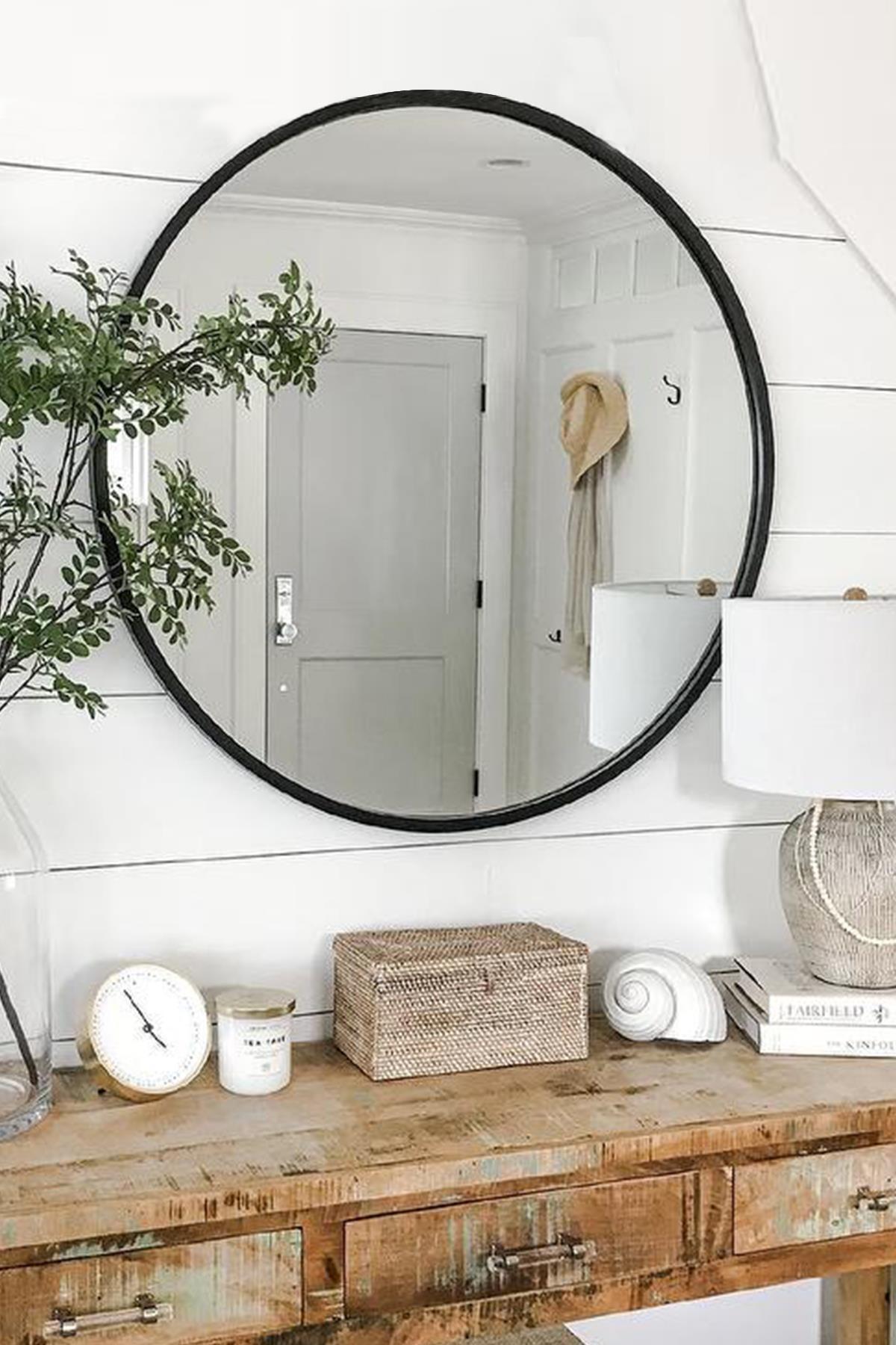 LYN HOME & DECOR Lyn Dekoratif Konsol Aynası Siyah 2