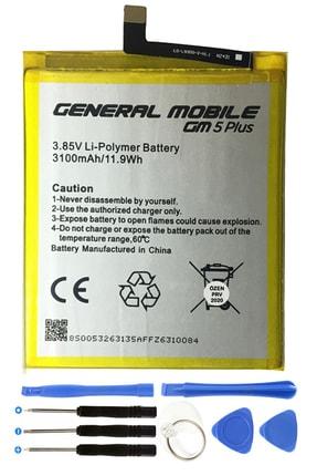 Ceykergsm General Mobile Gm 5 Plus Batarya Pil 3100 Mah + Montaj Tamir Seti