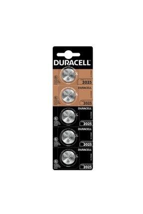 Duracell Pil Düğme 3v 2025 Lityum (Beşli Paket) Cr-2025