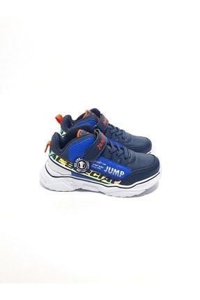 Jump Unisex Çocuk Lacivert Boğazlı Spor Ayakkabı 25792