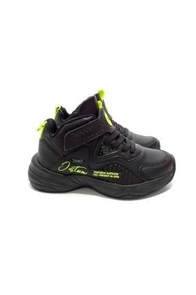 Jump Unisex Çocuk Siyah Basket Ayakkabı