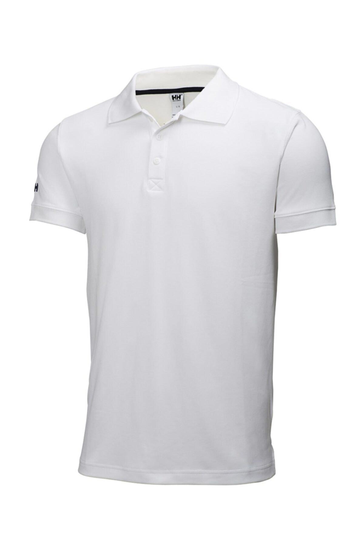 Helly Hansen Crewline Polo Yaka Beyaz Erkek T-shirt 1