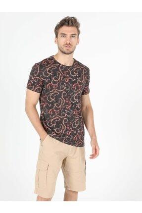 Colin's Erkek Gri Kısa Kol  T-Shirt