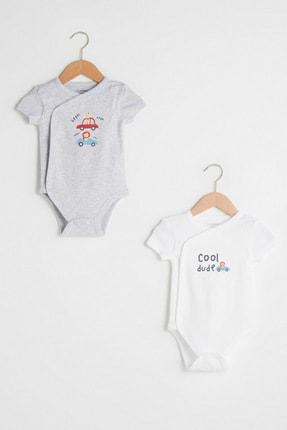 LC Waikiki Erkek Bebek Kar Melanj 847 Bebek Body & Zıbın
