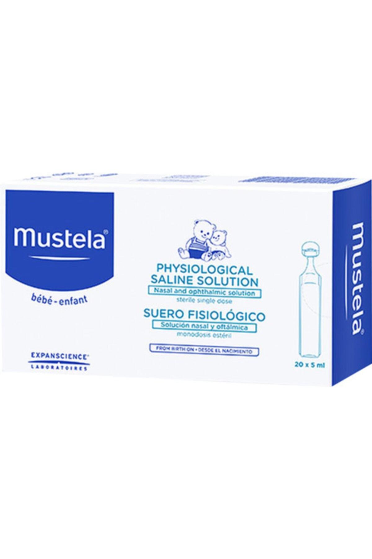 Mustela Serum Fizyolojik 5mlx20 Li Flakon-s.k.t 12-2022 1