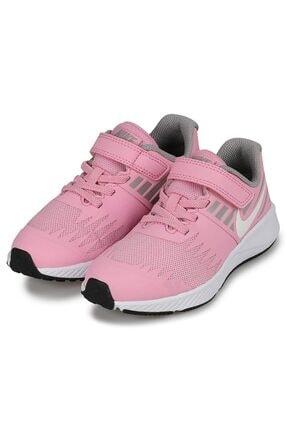 Nike Kız Çocuk Pembe Bantlı Spor Ayakkabı