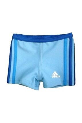 adidas Erkek Çocuk Yüzücü Mayosu Mavi Aw 3Sa inf Bx V37278