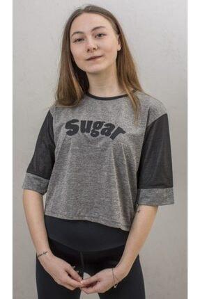 Exuma Kadın Gri Sugar T-shirt