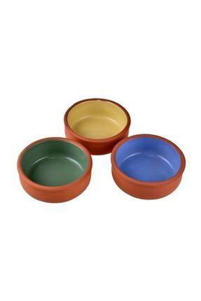 Bambum Renkli 3'lü Sütlaç Zerde Kabı