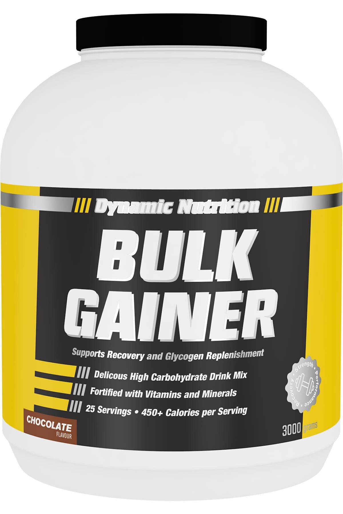 Dynamic Nutrition Dynamic Bulk Gainer 3000 Gr (çikolata Aromalı) 1