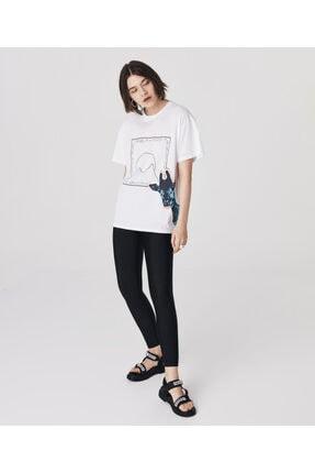 Twist Grafik Baskı T-shirt