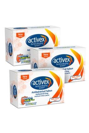 Activex Antibakteriyel Katı Sabun Aktif 3x100 Gr
