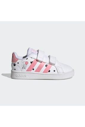 adidas GRAND COURT I Beyaz Kız Çocuk Sneaker Ayakkabı 101085050