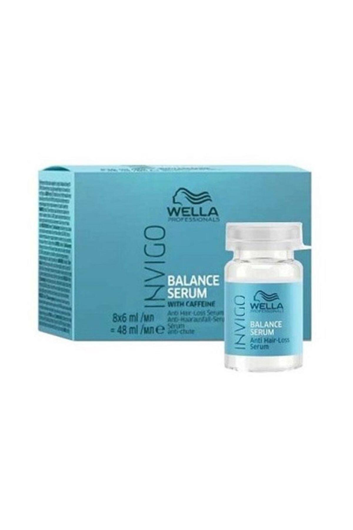 Wella Invigo Balance Anti-hairloss Serum 8x6 ml 1