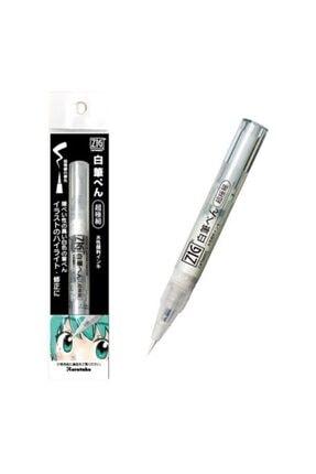 Zig Zıg Kuretake Ultra Fine Tip White Brush Pen