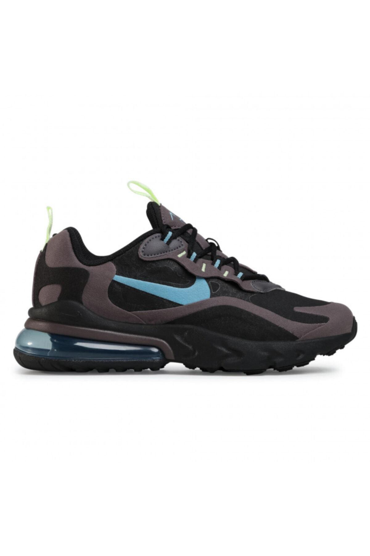 Nike Air Max 270 React Bq0103 012 Black/cerulean/thunder Grey 1