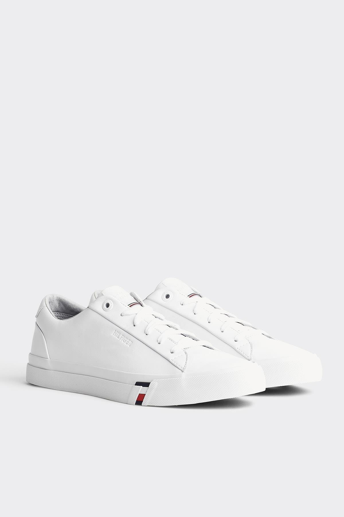 Tommy Hilfiger Corporate Leather Sneaker 1
