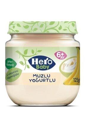 Hero Baby Muzlu Yoğurtlu 125 Gr x 6 Adet