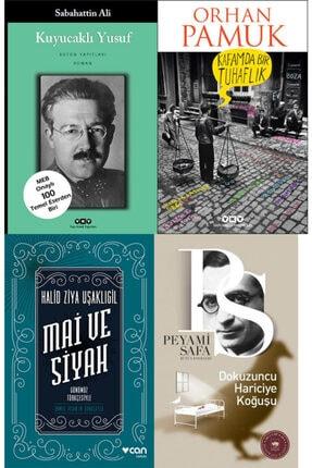 Yapı Kredi Yayınları Kültür Türk Edebiyatı En Iyi 4 Roman Set Kafamda Bir Tuhaflık Mai Ve Siyah Dokuzuncu Hariciye Koğuşu