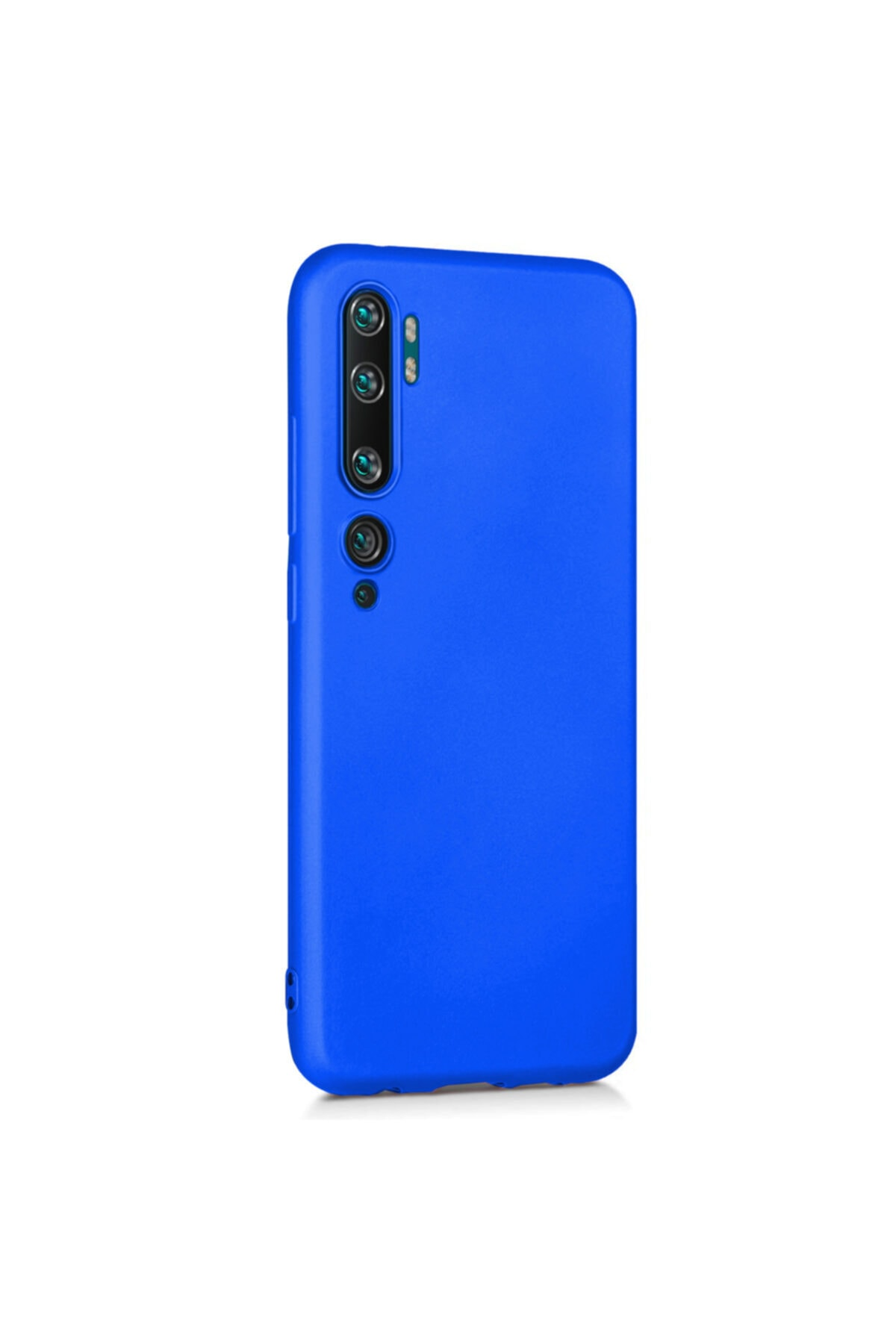 Xiaomi Microsonic Matte Silicone Mi Note 10 Kılıf Mavi 2