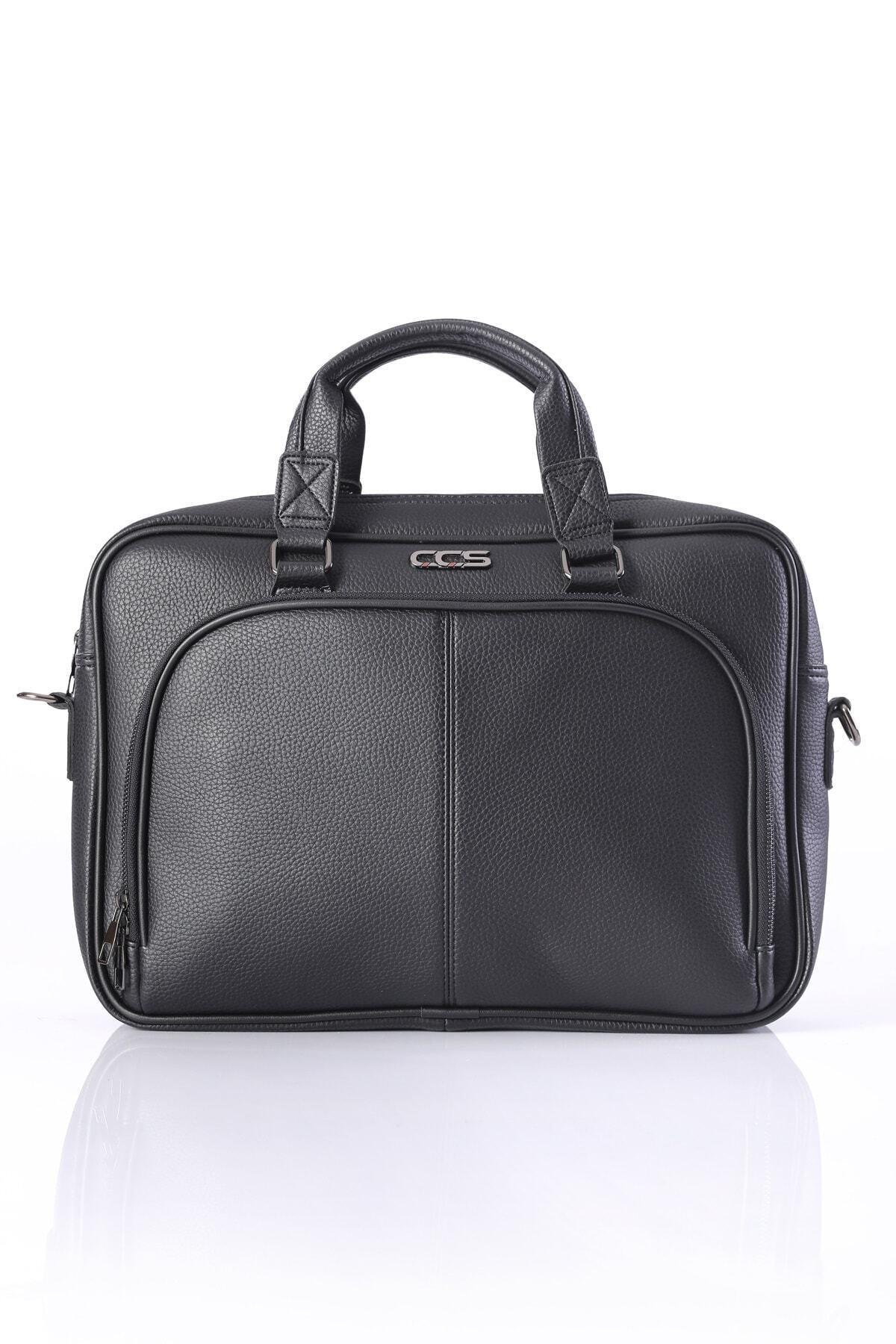 ÇÇS 71379 15.6 Inc Omuz Askılı Laptop Evrak Çantası Siyah 1