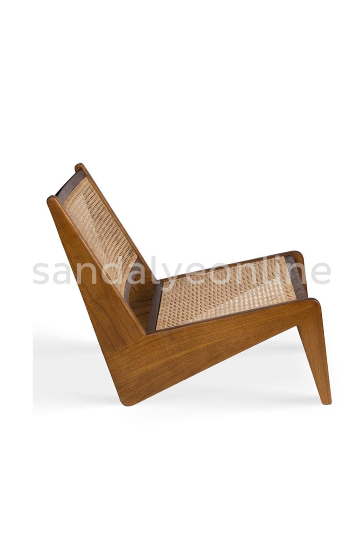 Sandalye Online Kanguru Ahşap Hazeran Tasarım Berjer 2