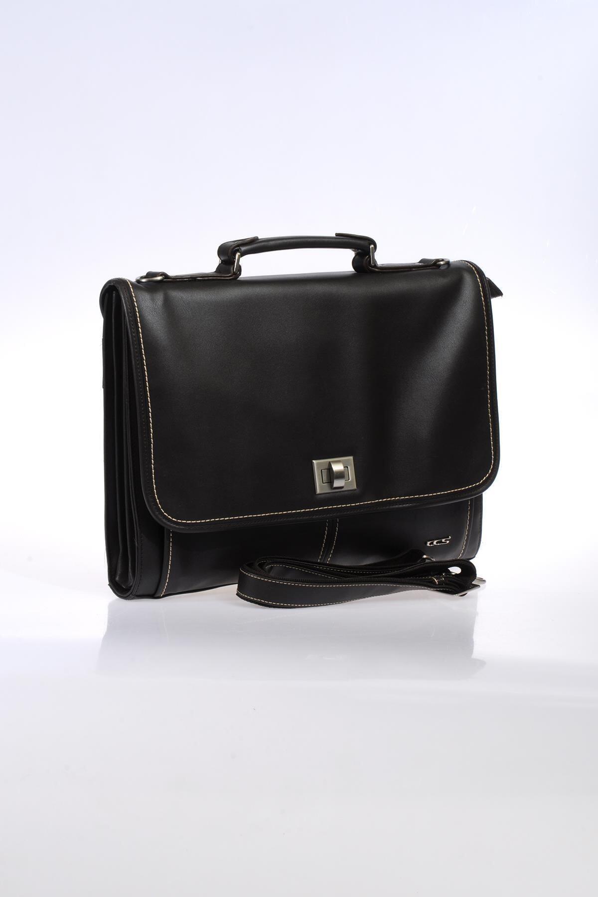 ÇÇS Kahverengi Unisex Laptop & Evrak Çantası 2