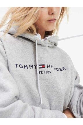 Tommy Hilfiger Core Flag Logo Bayan Sweatshirt