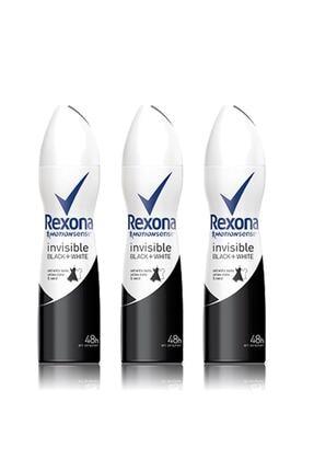 Rexona Kadın Deodorant Sprey Invisible Black + White 150 Ml