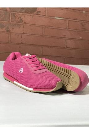 LETOON Bayan Leton Fuschıa Pembe Kadın Spor Ayakkabı Yürüyüş