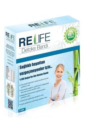 Relife Re-life Detoks ( Detox ) Bandı %100 Doğal Ürün