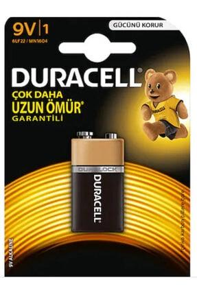 Duracell Alkalin 9 Volt Kare Pil 9v